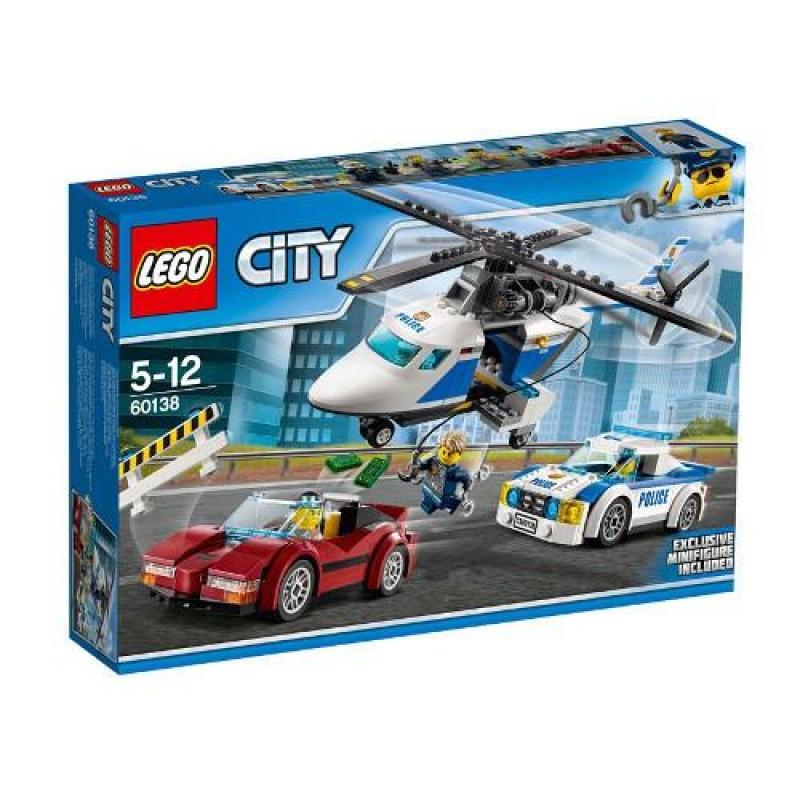 LEGO City Urmarire de Mare Viteza _toputilaj.ro