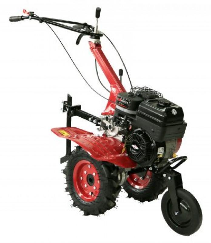 Motocultor _BRONTO_WMA_500_ROSU_motor_B&S_IC65_latime_lucru_80 cm-cu_viteze_1+2_cu_roti_cauciuc_4.00-8_agro_toputilaj.ro