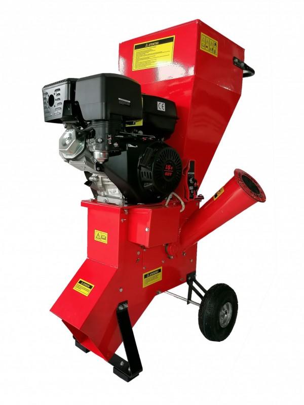 Tocator de crengi pe benzina Breckner Germany BK98002, TC 7-76, 6.5 CP, grosime maxima crengi 76 mm, 90 kg Breckner