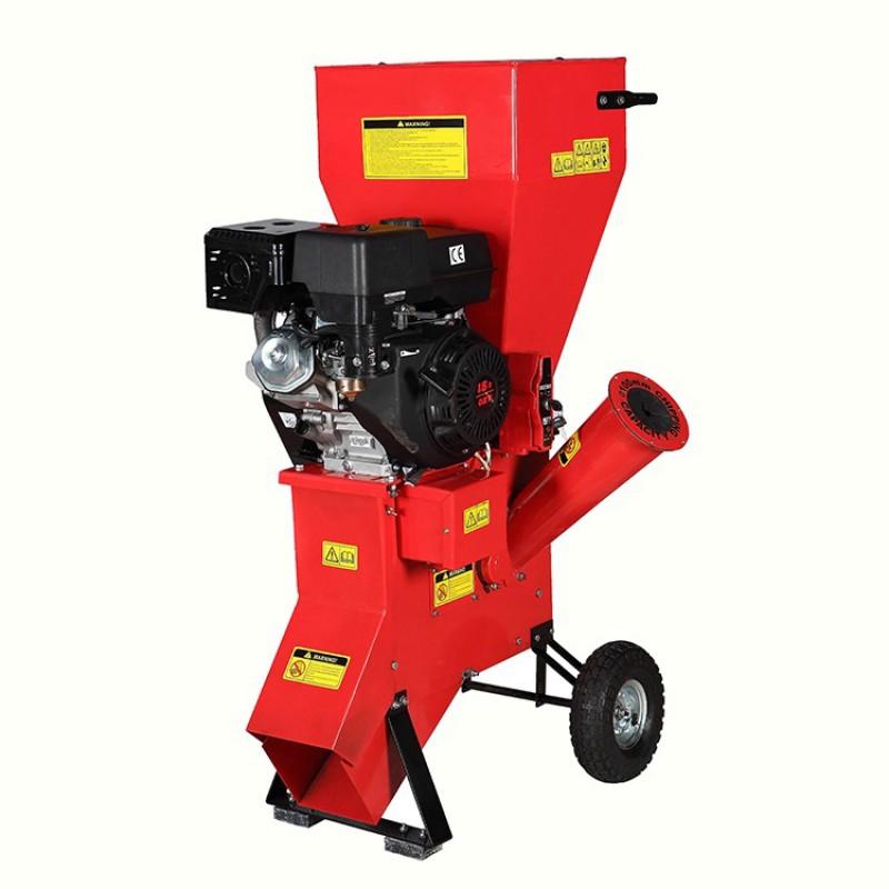 Tocator de crengi pe benzina Breckner Germany BK98003, TC 15-100E, cu pormire electrica, 15 CP, grosime maxima crengi 100 mm, 100 kg BRECKNER
